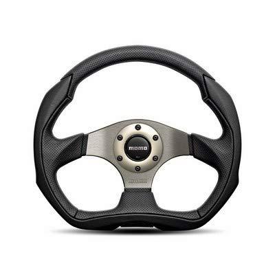 Momo Air Leather - Momo EAG35BK0S Steering Wheel (EAGLE 350 Air Leather)