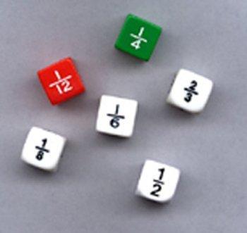 海外並行輸入正規品 Fraction Dice Set 6 Of 6 -- -- Case Set of 8 B00A7W5IR6, シルク専門店イーズクリエーション:ab44e556 --- arianechie.dominiotemporario.com
