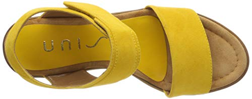 Unisa yellow Amarillo Para Pulsera ks Kefi Yellow Mujer Con Sandalia fqrOxf4Rn