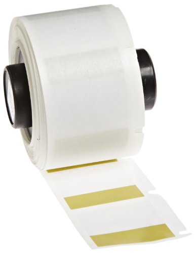 Brady PTL-19-427-BR Self-Laminating Vinyl TLS 2200/TLS PC Link Labels , Brown/Translucent (250 Labels per Roll, 1 Roll per - Online E Br