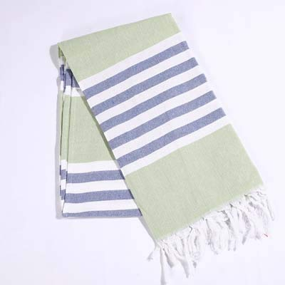 - Bath Towels Striped Cotton Turkish with Tassels Travel Camping Bath Sauna Beach Gym Pool Blanket Surgical Drape
