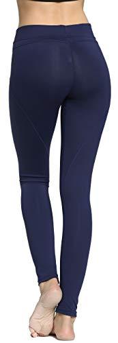 RUNNING GIRL Butt Lift Leggings Scrunch Butt Push Up Leggings Yoga Pants for Women Shapewear Skinny Workout Tights (Navy Blue, M)
