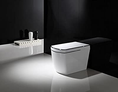 SYSINN SL620 Auto-open,Auto-close,Washer Heating,Cushion Heating,Radar Detect Smart 1-Piece Toilet Set