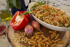 Chickapea Organic Chickpea and Red Lentil Pasta Spirals - Gluten-Free, Vegan, Protein Packed Rotini - 8 oz Each (Pack of 6) by Chickapea (Image #2)
