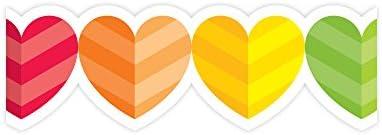 Rainbow Hearts Border
