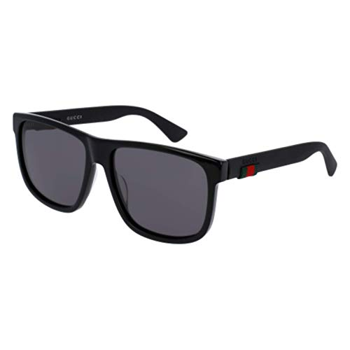 7192faad4706 Gucci GG 0010 S- 001 BLACK GREY Sunglasses