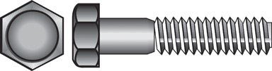 The Hillman Group 190339 Hex Bolt, 1/2-Inch X 5 1/2-Inch, 25-Pack by The Hillman Group