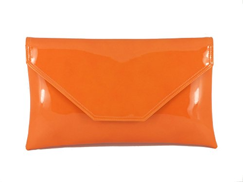 Cartera de LONI mano Naranja mujer para Ydcqa4