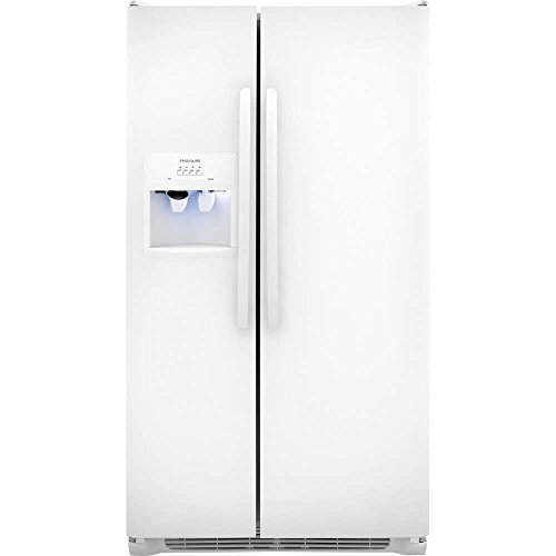 Review Frigidaire FFSS2614QP 26.0 Cu. Ft. Pearl White Side-By-Side Refrigerator