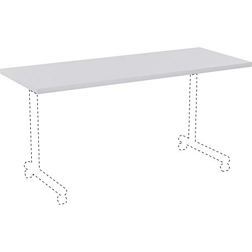 (Lorell 62563 Invent Table Top, High Pressure Laminate (HPL),Light Gray)