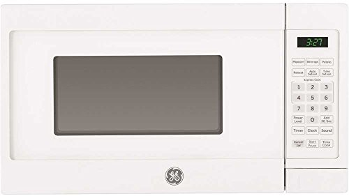 (GE Appliances JEM3072DHWW Countertop Microwave Oven, 0.7 Cu Ft, White)