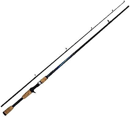ZZY Canne à pêche 1.8m Casting Rod en Acier au Carbone de