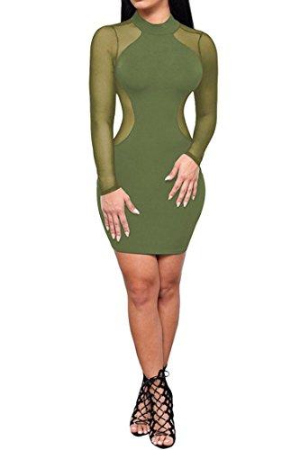 olive military dress - 8
