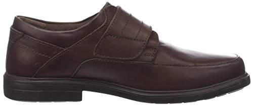 Hush Puppies Peri, Mocassini Uomo Marrone (Marron Foncé)