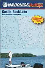 Castle Rock Lake High Definition Map, Wisconsin: Navionics ... on
