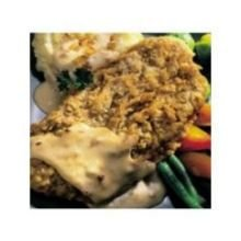 Kings Command Foods Southern Style Chicken Fried Beef Steak - Raw, 5.3 Ounce - 30 per case. (Style Chicken Southern)