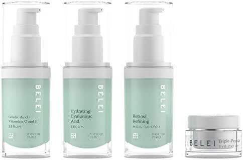Belei Beauty Solutions Deluxe Mini-Size Skin Care Set, All Skin Types