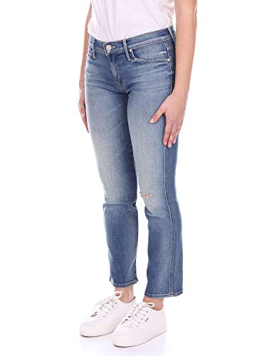 Jeans Azul Mujer 1194385blue Mother Algodon aOIpxq
