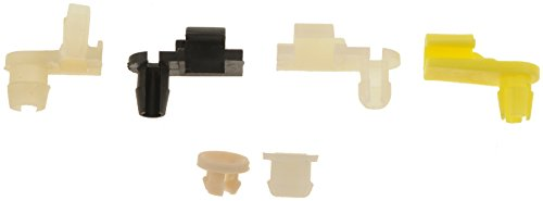 Lock Rod Set - Dorman 75450 Door Lock Rod Clips, 6 Piece