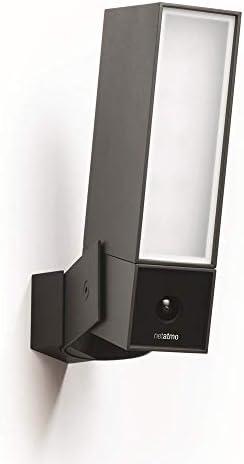 Netatmo - Cámara de vigilancia Inteligente para Exteriores con Sirena de 105 dB, WiFi, iluminación integrada, detección de Movimiento, visión Nocturna, sin suscripción, NOC-S-DE: Amazon.es: Bricolaje y herramientas