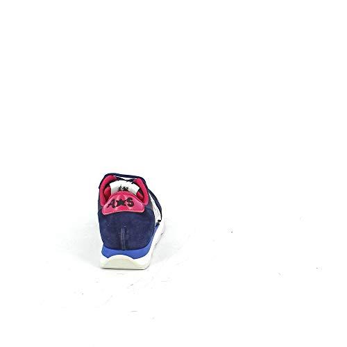 In Tessuto Sneaker Suede E Blu Tecnico dqRROwtvn