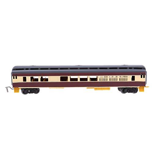 perfk 1:87スケール 列車模型 幼児玩具 鉄道車両 列車モデル 模型玩具 全11選択 - Dの商品画像