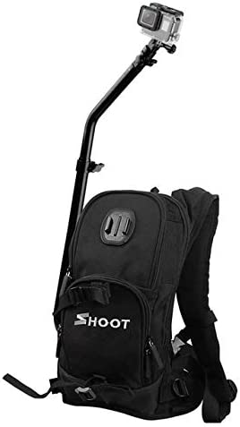Top Deals SHOOT Backpack Quick Assembly Guide Sports Bag for Hero 7//6//5//4//3+//3 xiaoyi SJ Cam Action Camera for Bicycle CHUN-Accessory