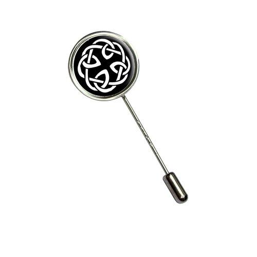 Celtic Knot Stick Hat Brooch Pin