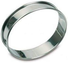 Gobel 8 cm 6 Tarte-Ringe aus Edelstahl