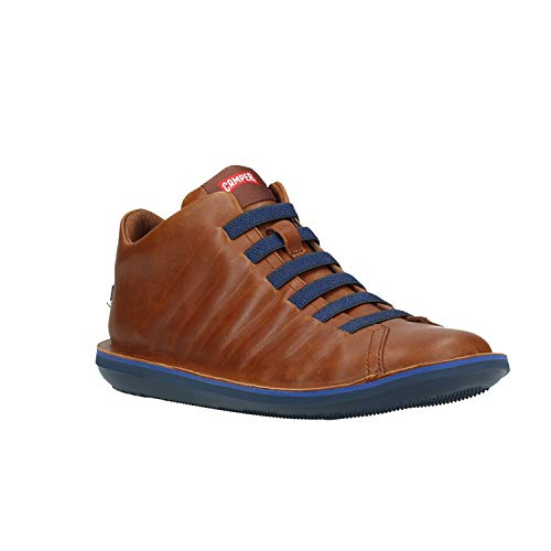 Camper Mens Beetle Leather Medium Brown Shoes 11 US
