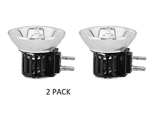2 Pack DNE 120V 150W Donar Bulb RM-120 Ponder and Best 733 Dual-8 8mm Projector Movie - Synchronex SP-169 Sound - Marco Main Illuminator Surgiscope 1036 1037 Replacement Lamp