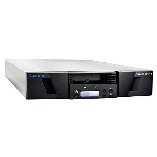 QUANTUM SUPERLOADER 3, ONE LTO-7HH TAPE DRIVE, MODEL C, EIGHT SLOTS, 6GB/S SAS, by Quantum