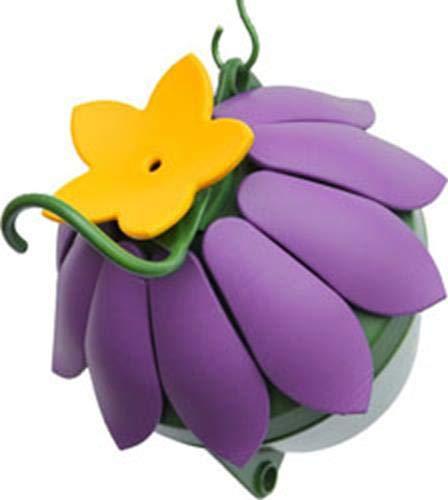 Nature's Way Bird Products SFHF2 So Real Single Flower Hummingbird Feeder, Purple