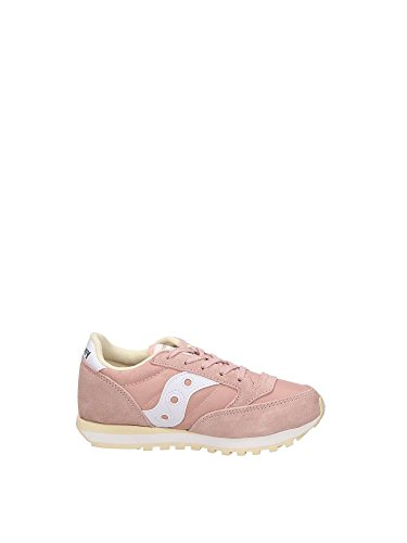 Blanche Fille Saucony Rose Baskets Basses Jazz HWz7XA