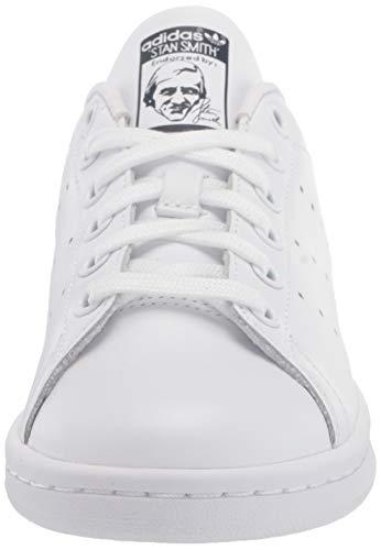 adidas Originals Women's Stan Smith, White/White/Collegiate Navy, 8.5