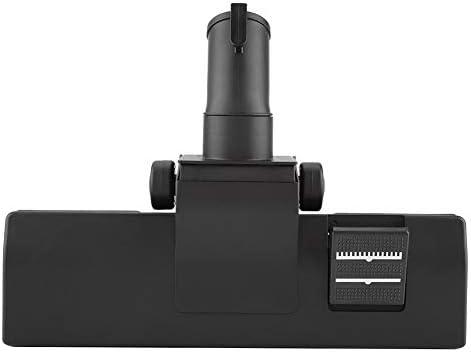 32mm Innendurchmesser Staubsauger Kopf Kunststoff Verstellbare Teppichbodenbürste Düsenbefestigung Werkzeug für die Reinigung Boden Teppich