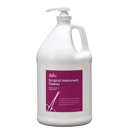 Miltex Instrument - Miltex 3-725 Surgical Instrument Cleaner, 1 gal Pump Bottle
