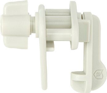 Attwood Universal Pontoon Replacement Gate Latch, White