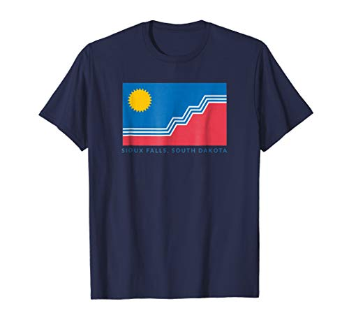 (Sioux Falls Flag T-Shirt with