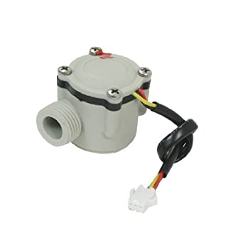 DealMux HQ-A168 PT sensor Medidor medio Calentador de Agua Pasillo efecto flujo, 1
