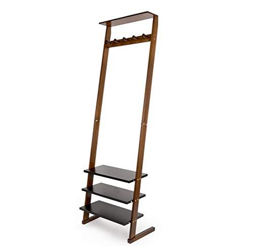 - BLAKQ - CoatRack Coat Rack Floor Porch Living Room Hanger Multi-Function Wall-to-Wall Bedroom Rack Hanger