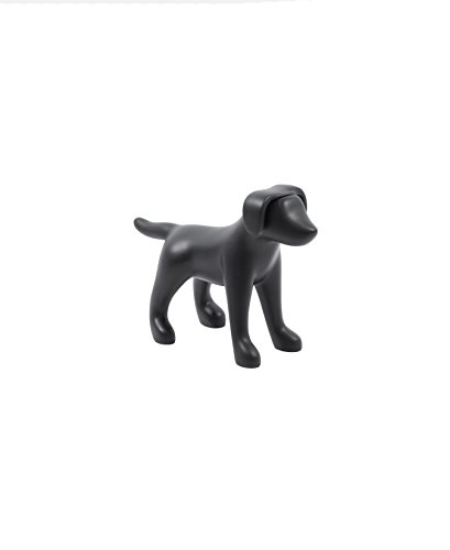 Newtech Display MA-DOG3SM/BLK Small Terrier Dog Mannequin, 13'' Height, 18'' Large, Matte Black by Newtech Display
