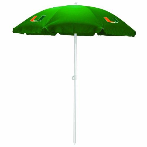 NCAA Miami Hurricanes Portable Sunshade Umbrella
