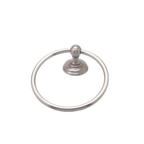 (Berenson Jefferson Collection Round Towel Ring, Brushed Nickel )