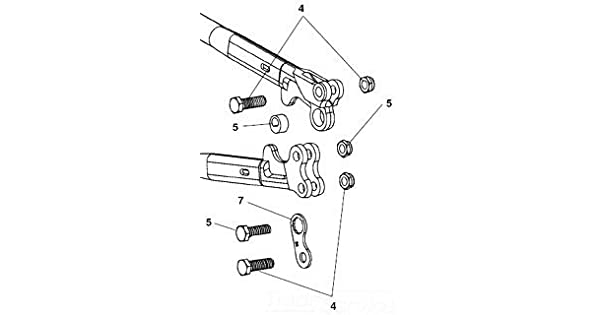 Kohler Ridgid 18328 Bolt with Nut S42 StandardPlumbing