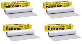 Plast-O-Mat Ribbed Floor Runner Carpet Protector,No PM-50 Warp Brothers