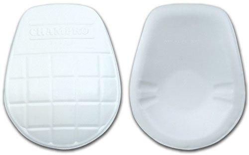 Champro Varsity Ultra Light Knee Pad (White, Adult)
