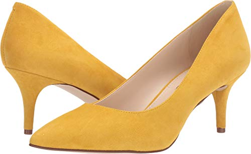 Nine West Women's Margie Pump Summer Yellow 9 M US