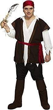 Disfraz Adulto Piratas Del Caribe XL para a una 48
