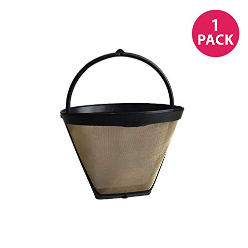 Maker Coffee Filters Krups - KRUPS F0494210 Gold Tone Permanent Filter, Black